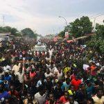 Kisangani : Martin Fayulu acceuilli par une foule immense