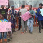 Goma : Intense manifestation de la LUCHA ce jeudi au siège de la maison Airtel