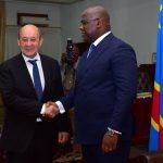 RDC : La France va mobiliser 300 millions d'euros pour soutenir le mandat de Tshisekedi (Jean Yves le Drian)