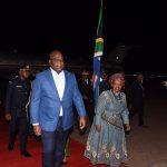 Afrique du Sud : Felix Tshisekedi vient d'arriver à Pretoria pour l'investiture de Cyril Ramaphosa