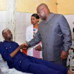 RDC : Félix Tshisekedi a rendu visite aux policiers blessés lors du retour de Jean-Pierre Bemba à Kinshasa