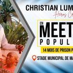 """UDPS : Christian Lumu annonce un meeting populaire à Masina pour parler de """"son calvaire"""" pendant ses 14 mois de detention"""