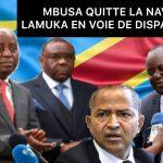 VocNews 19.6| MBUSA NYAMWISI QUITTE LAMUKA , ISOLEMENT DE FAYULU ? [VIDEO]