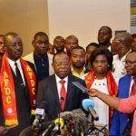 Bahati Lukwebo : J'ai payé la caution pour Steve Mbikayi; la loi est claire, celui qui quitte l'AFDC et Alliés perd son mandat