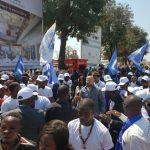 Parti Politique : Le Président de la DCU, Vidiye Tshimanga reçoit un acceuil triomphal à Lubumbashi