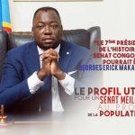 Course à la Présidence du Sénat : Le candidat Georges Erick Makangu désiste au profit d'Alexis Thambwe