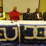 Haut Katanga – DCU : Vidiye Tshimanga a présidé hier une grande reunion des membres de l'executif national et provincial du parti à l'hotel Pullman de Lubumbashi