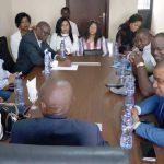 Parti Politique -DCU : Marie Akanjo et Naomie Ngalula, des hauts cadres de DCU/Europe, reçus à Kinshasa par le représentant de Vidiye Tshimanga
