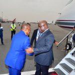 Angola : Felix Tshisekedi est arrivé à Luanda pour une quadripartite avec Museveni, Kagame et Lourenço