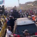Lualaba : Malgrè l'interdiction des autorités, Moïse Katumbi accueilli par une marré humaine à Kolwezi