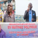 [VIDEO] UDPS, SPECIALE MATINEE POLITIQUE : UDPS FUNA DECLARE GUERRE CONTRE LA POLITIQUE D'INTOX DE M.FAYULU