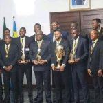 RDC : Felix Tshisekedi a reçu les Léopards basket, Champions d'Afrique