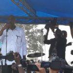 Camp Luka : Martin Fayulu remercie le Général Kasongo et accuse le gouverneur d'avoir tenté d'interdire le meeting