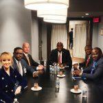 Etats Unis – Atlanta : Felix Tshisekedi annoncé à un dîner d'affaires offert par Mutombo Dikembe, JC Munkokole de la Chambre de Commerce Gongolaise de Georgie et Bethy pitilo de la DCU