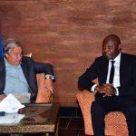 RDC : Arrivé à Kinshasa la veille, António Guterres sera reçu par Felix Tshisekedi ce lundi