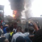 Kinshasa : Incendie d'un dépot de carburant à Matete De Bonhomme