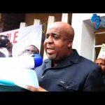 [VIDEO] ETAT DES DROITS EN MARCHE : MINISTRE AFF. FONCIERES MOLENDO SAKOMBI FRAPPE, BA FAUSSEURS BA LELI