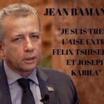 """[VIDEO] SPECIAL NEW YORK : JEAN BAMANISA """" JE SUIS TRES A L'AISE ENTRE FELIX TSHISEKEDI ET JOSEPH KABILA"""""""