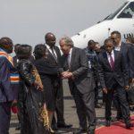 RDC : Le Secrétaire général de l'ONU a débuté sa première visite en RDC par Goma