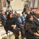 Rome : Felix Tshisekedi, JP Bemba, Martin Fayulu et Adolph Muzito ont pris part à la céremonie de création du cardinal Fridolin Ambongo