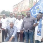 Parti Politique – DCU : En mission d'inspection au Kongo Central, le SGa Bethy Pitilo acceuilli chaleureusement à Matadi