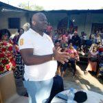 Parti Politique – DCU : Accueilli chaleureusement par les mamans de Mont Ngafula, le SGa Bethy Pitilo a prêché le changement des mentalités