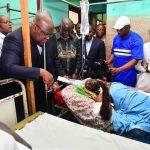 Accident de circulation au Kongo Central : Felix Tshisekedi a rendu visite aux victimes