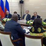 Russie : Felix Tshisekedi a eu un tête-à-tête avec Vladimir Poutine à Sotchi