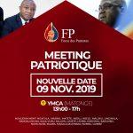 Kinshasa : Le parti Force des Patriotes de Honoré Mvula fait sa sortie officielle aujourd'hui au centre YMCA