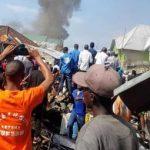 Crash d'un avion à Goma : Une trentaine de corps sans vie déja retrouvés