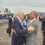 RDC : Les Présidents de la FIFA et de la CAF, Samuel Eto'o et Youri Djorkaeff parmi les personnalités présentes à Lubumbashi pour la célébration du 80è anniversaire du TP Mazembe