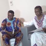 [VIDEO] Visite de Maman Olive Lembe Kabila chez le frère Matou Samuel