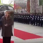 [VIDEO] Honneur Militaire à SEM FELIX TSHISEKEDI à Berlin en présence de la Chancelière Angela Merkel