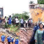 [VIDEO] Inondations, 48 heures après FATSHI realise ses promesses : les agents de l'ODV commencent leur travail à Lemba Livulu