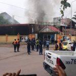 Kinshasa : Une boite de nuit du centre ville en feu