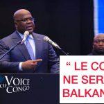 """[VIDEO] LONDRES, FELIX TSHISEKEDI: """"LE CONGO NE SERA JAMAIS BALKANISE"""" ET LANCE UN AVERTISSEMENT A SES MINISTRES"""