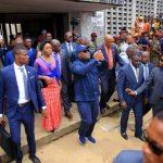 [VIDEO] Le Président Félix TSHISEKEDI fait la ronde de tous les sites de construction.