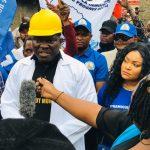 Kinshasa : Bethy Pitilo lance les travaux de construction d'une usine de traitement d'eau potable à Kinsenso