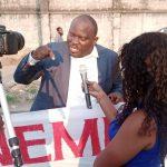 Dossier Minembwe : Bethy Pitilo a pris part au sit-in initié par le député Gecoco Mulumba devant le Palais du peuple