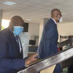 Consultations nationales : Jean Pierre Bemba est arrivé au Palais de la Nation pour rencontrer Felix Tshisekedi