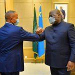 Union Sacrée – Moise Katumbi après sa rencontre avec Felix Tshisekedi : Je suis venu voir un frère, quand il va terminer les consultations, vous saurez ce qu'on a décidé avec le président