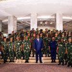 RDC : Lors d'un entretien avec Felix Tshisekedi, les Généraux et Officiers supérieurs de l'armée et de la Police ont renouvelé leur loyauté au Chef de l'Etat