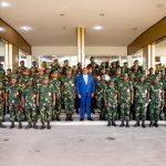 Cooperation militaire France – RDC : Felix Tshisekedi lance l'École de Guerre de Kinshasa