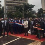 Kinshasa : Felix Tshisekedi a inauguré et ouvert à la circulation quatre sauts-de-mouton