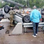 Kinshasa : Deux jours seulement après son inauguration, le Saut-de-mouton de Socimat enregistre son premier accident
