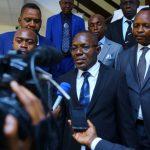 RDC : Le ministre Jonathan Diasoluka et son parti ABG adhérent à l'union sacrée de Félix Tshisekedi
