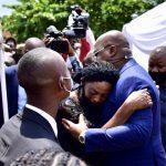 RDC : Félix Tshisekedi s'incline devant la dépouille de Jacob Kabeya, bourgmestre adjoint de la N'sele et coordonnateur des parlementaires debout UDPS
