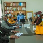 UDPS : Le Président ai JM Kabund en réunion avec le SG et les SGA sur les perspectives de l'an 2021