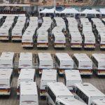 RDC : Felix Tshisekedi a remis 330 nouveaux bus à la Transco