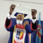 """E. Shadary obtient le titre de docteur en sciences politiques avec mention """"Grande Distinction"""""""